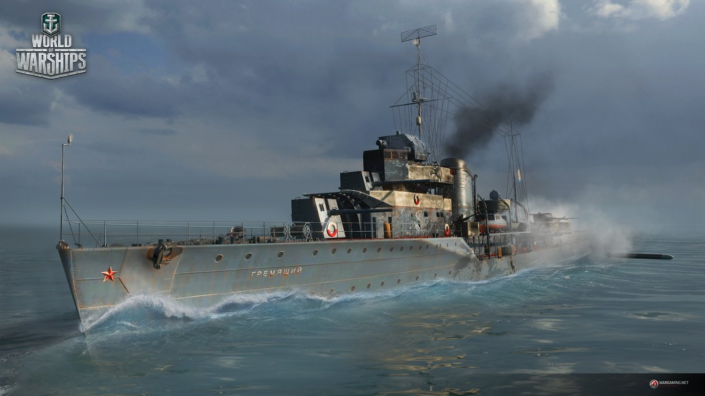 World of Warships - Screenshots der sowjetischen Flotte