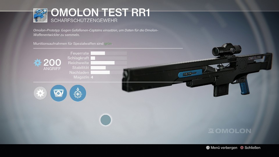 Omolon Test RR1