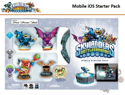 Die Retail-Box von Skylanders: Battlegrounds