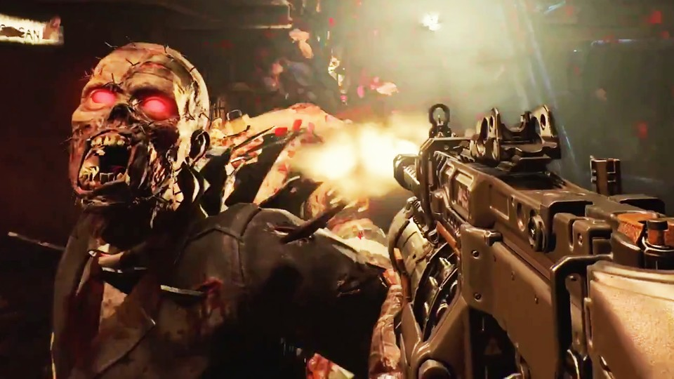 In Call of Duty: Modern Warfare gibt es keine Zombies. (Bild aus CoD: Black Ops 4)