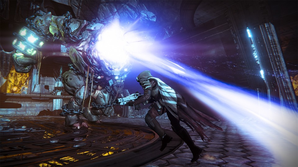 Destiny war mal als Third-Person-Shooter geplant.