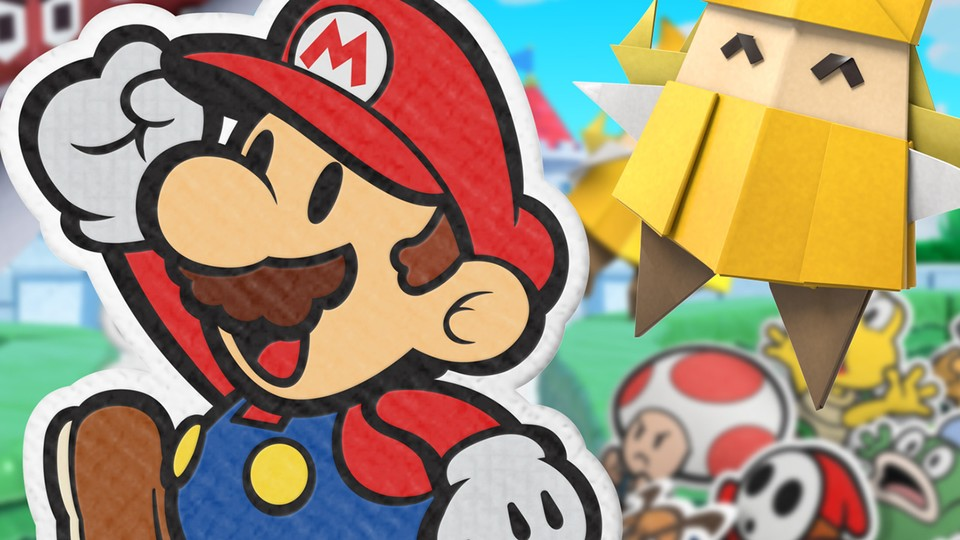 Das sagt die internationale Presse zu Paper Mario: The Origami King.