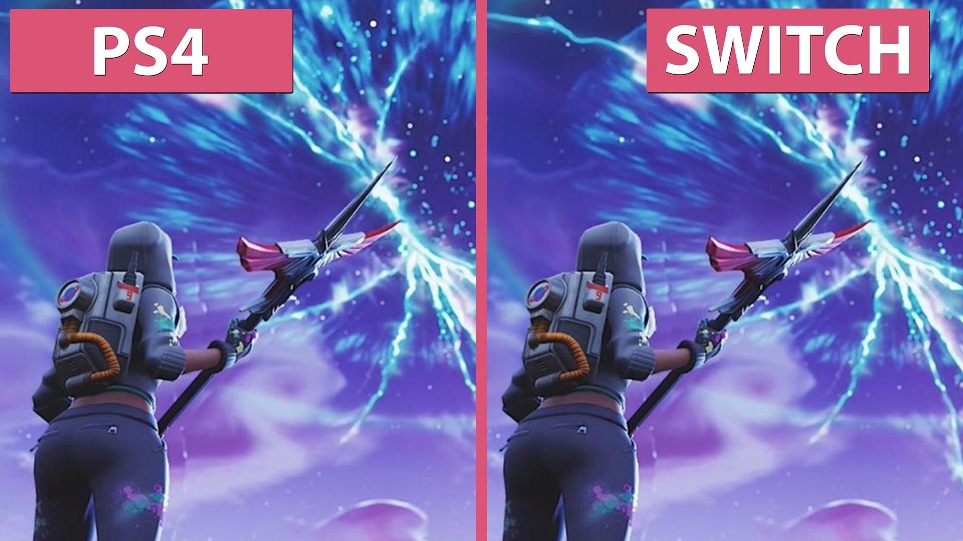 fortnite ps4 gegen switch im grafik und performancevergleich gamepro - fortnite ps4 mit xbox zusammen spielen