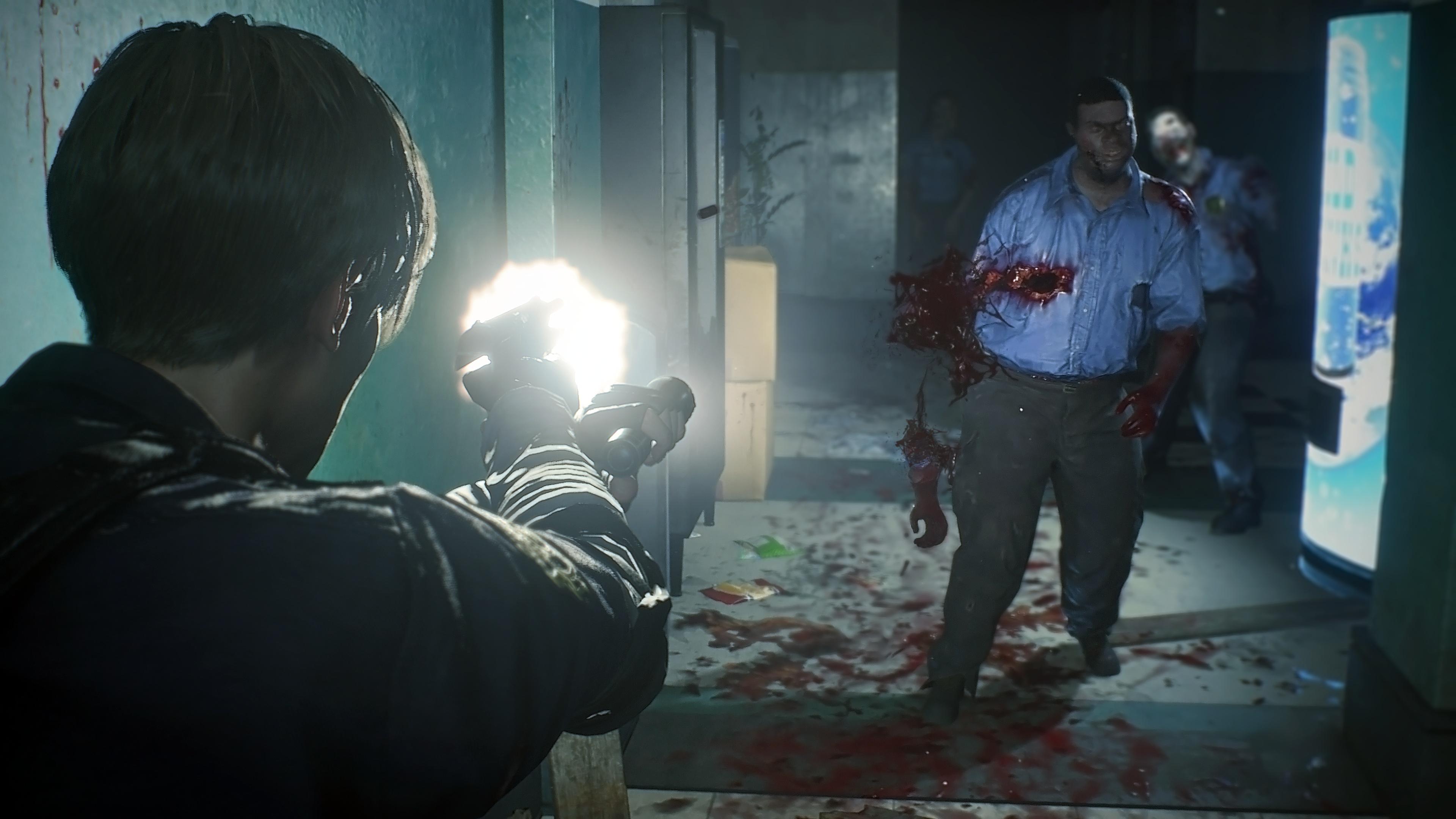 Resident Evil 2 Wie Damals So Sieht Das Remake Mit Fester Kamera Aus